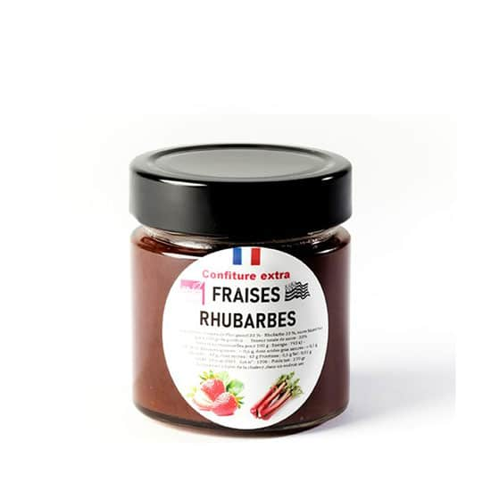 Confiture Fraises Rhubarbe 'Extra'