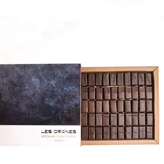 Assortiment Ganache Noir Grand Cru