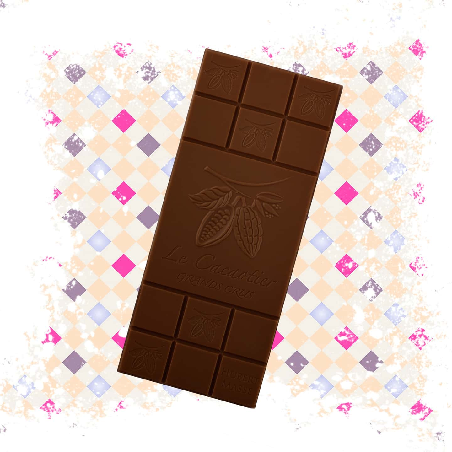 Tablette Chocolat Noir 72% Grand Cru origine Colombie 90g Bean to Bar