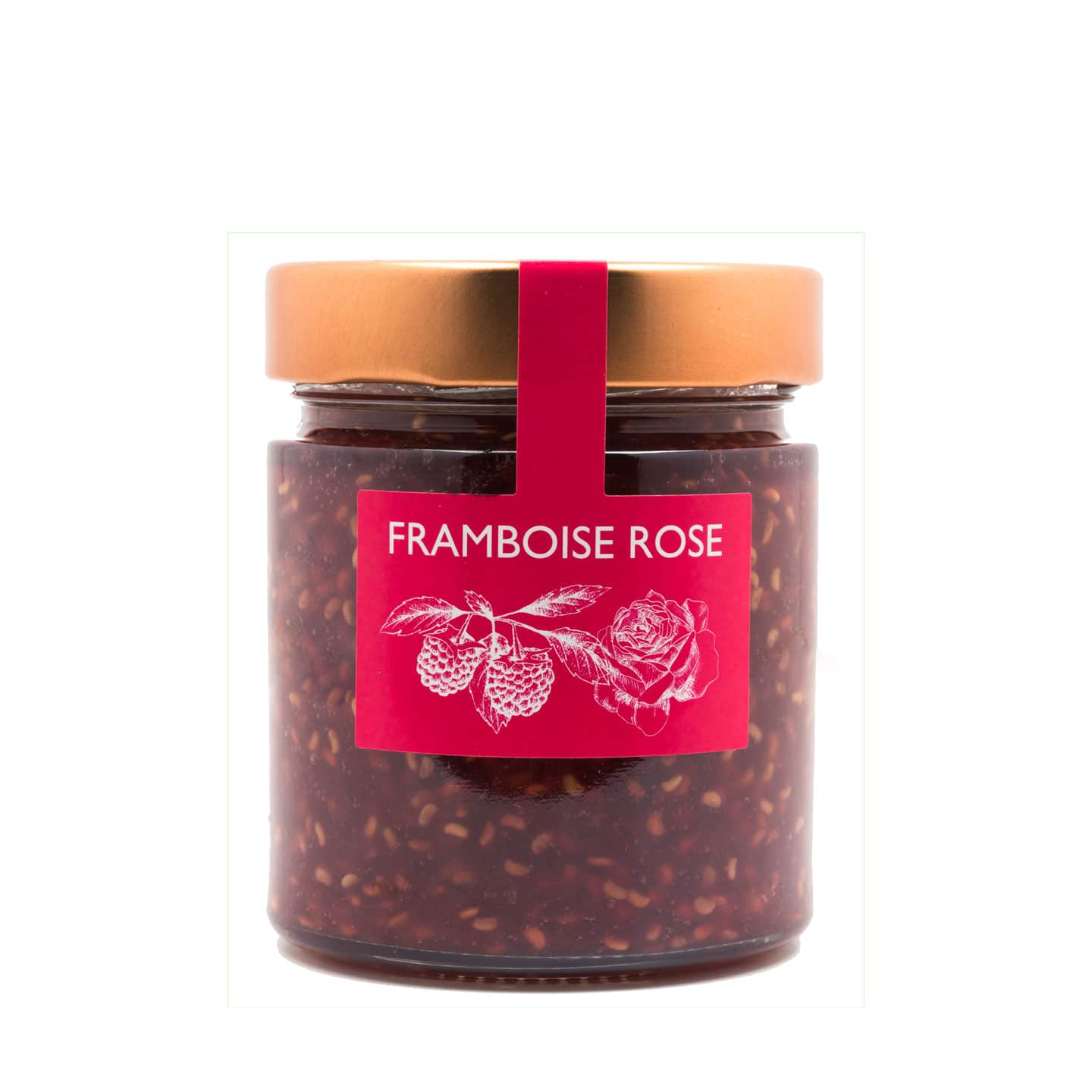 Confiture Framboise Rose 'Extra' 230g