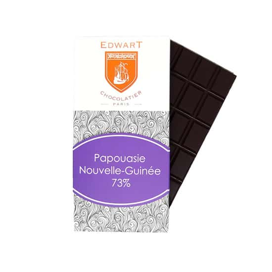Tablette Noir 73% Grand Cru Papouasie