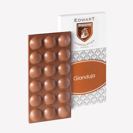 Tablette Lait Gianduja 38%