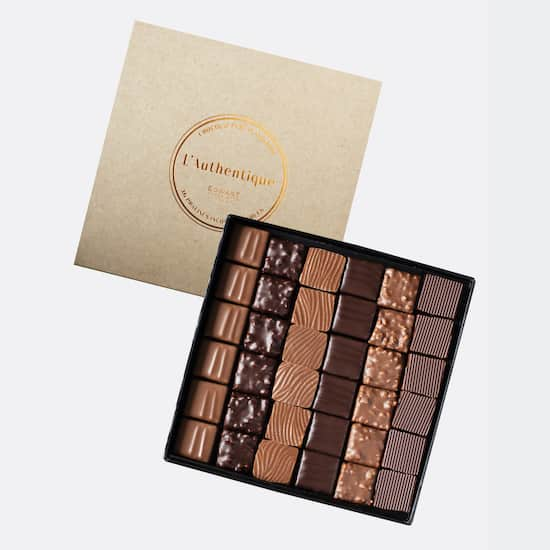 Assortiment Pralinés Traditionnels Chocolat Noir et Lait