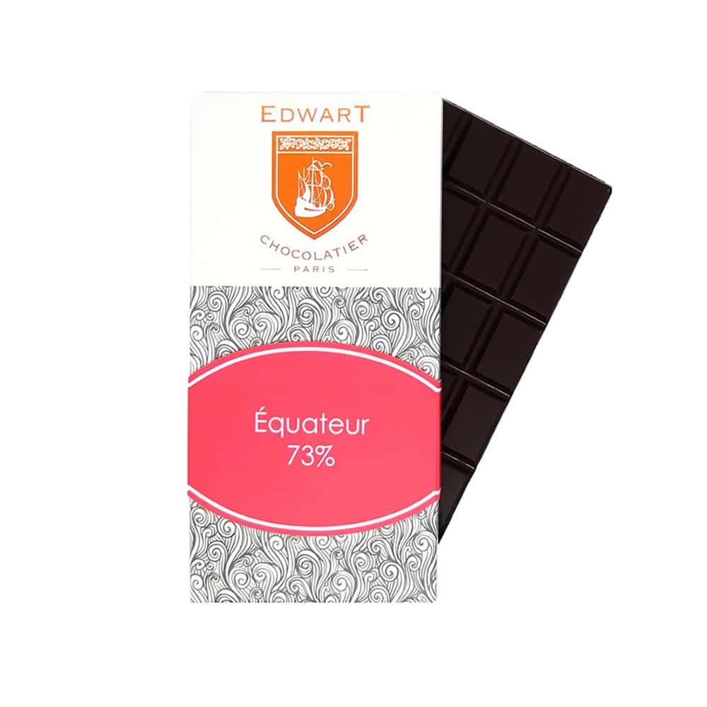 Tablette Chocolat Noir 73% Grand Cru origine Equateur 100g