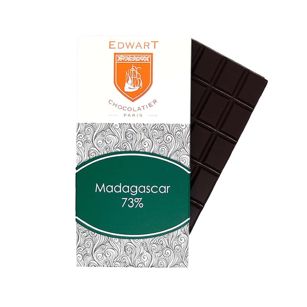 Tablette Chocolat Noir 73% Grand Cru origine Madagascar 100g