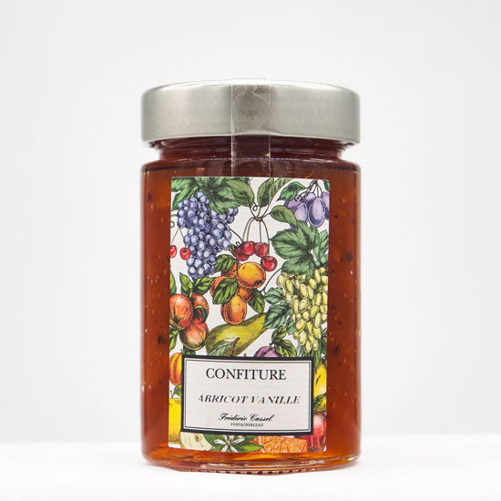 Confiture Abricot Vanille 'Extra'