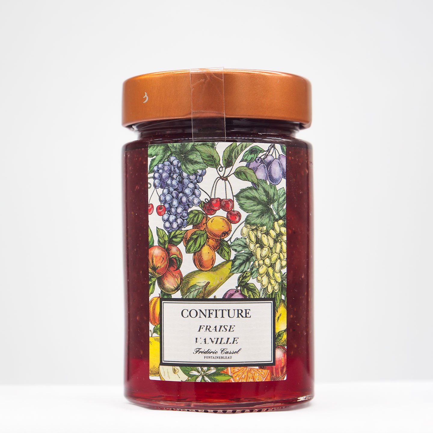 Confiture Fraise Vanille 'Extra' 270g