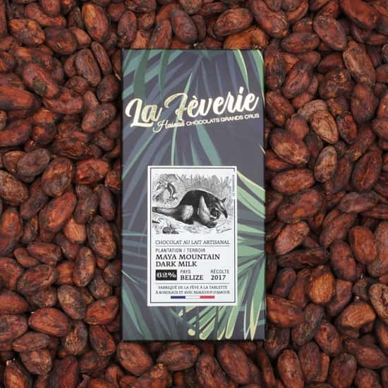 Tablette Lait 62% Belize