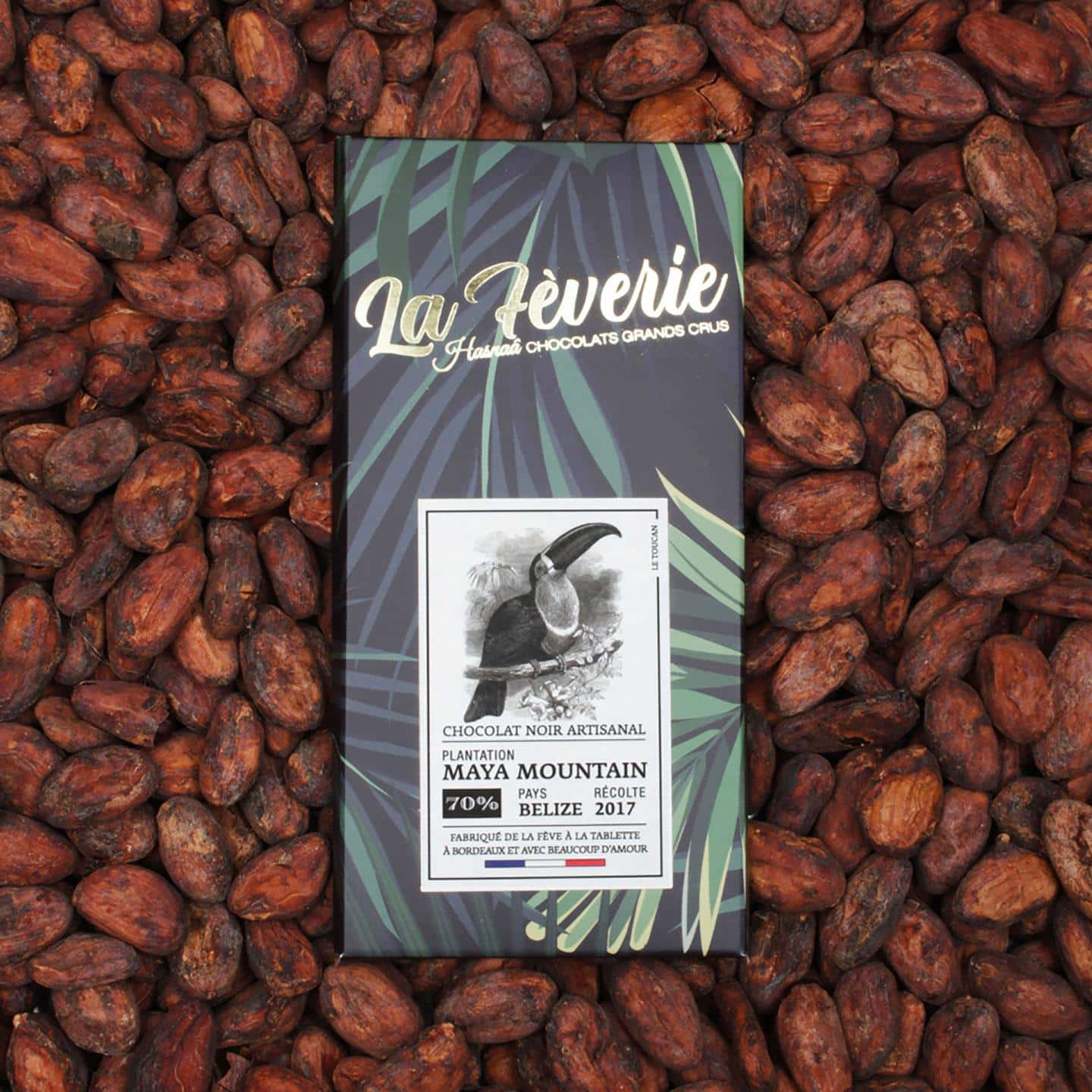 Tablette Chocolat Noir 70% origine Belize 56g Bean to Bar
