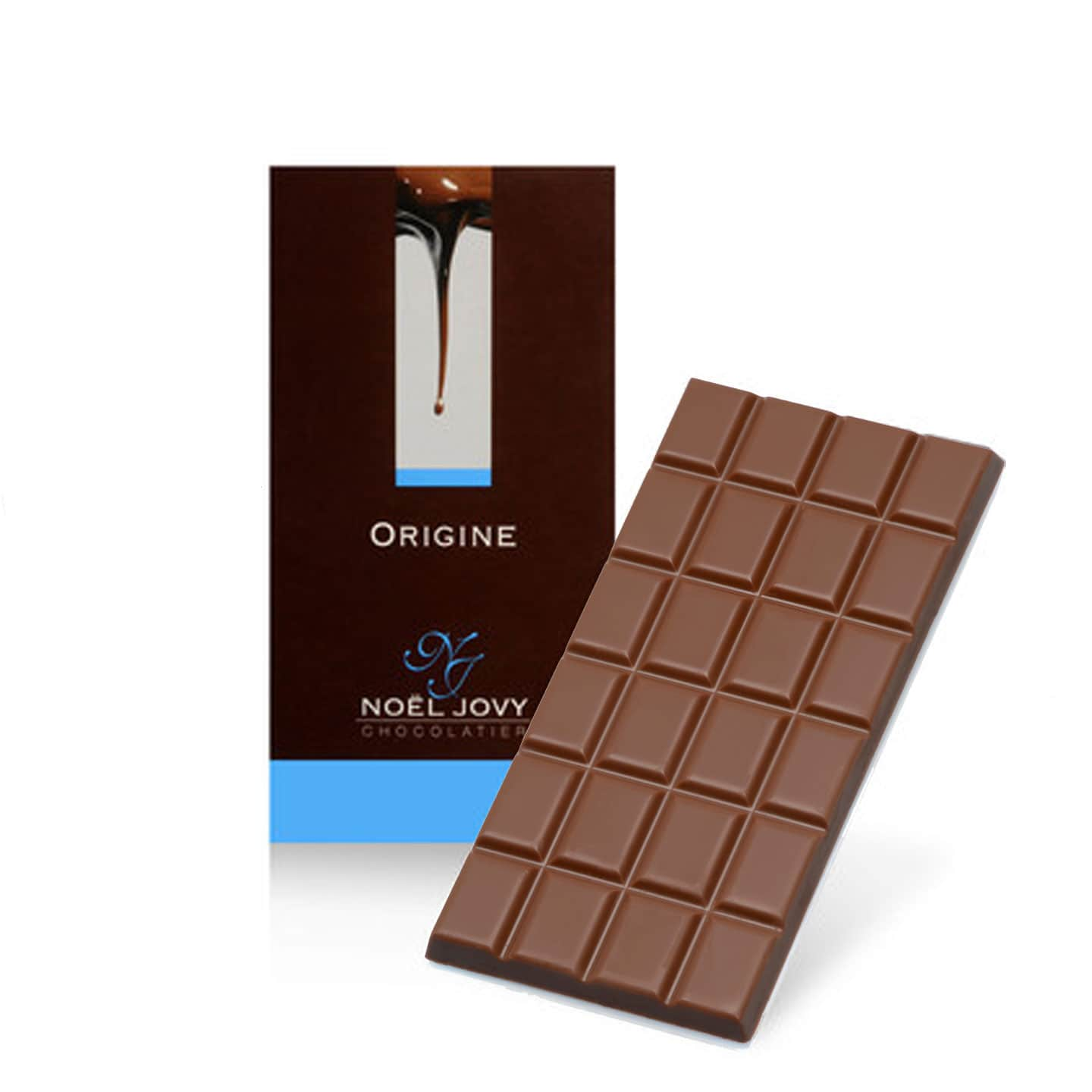 Tablette Chocolat Lait 43% origine Madagascar 100g