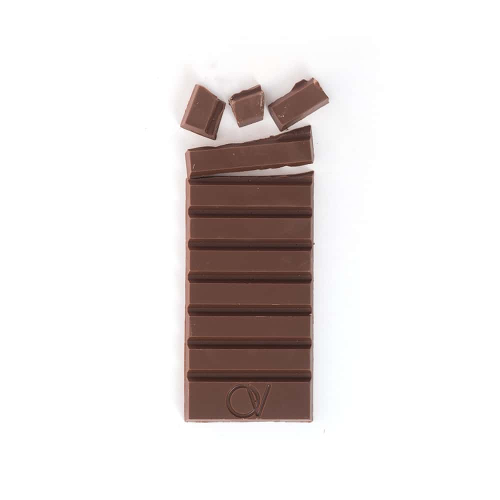 Tablette Chocolat Lait 45% origine Madagascar 80g