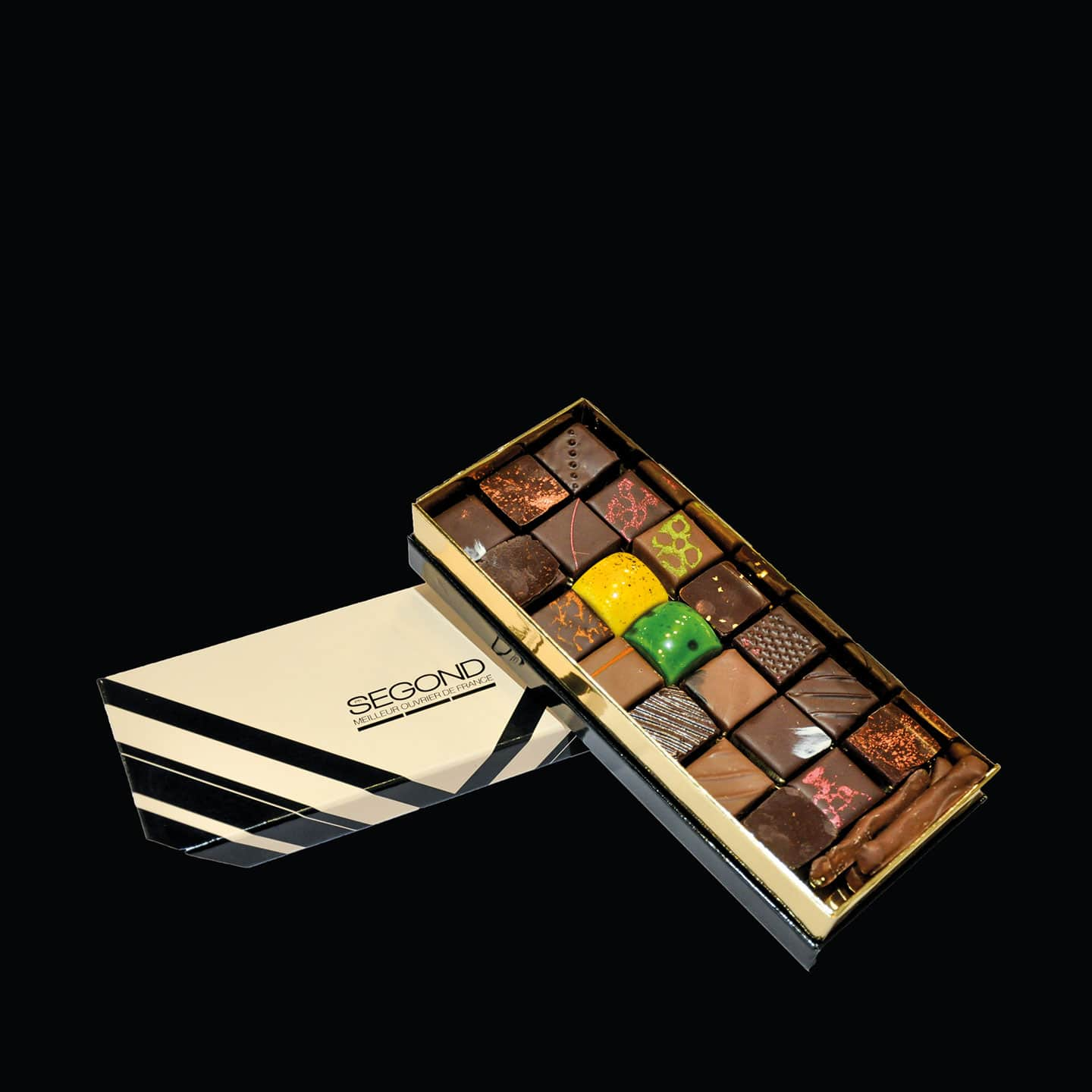 Assortiment Chocolats Noir 350g