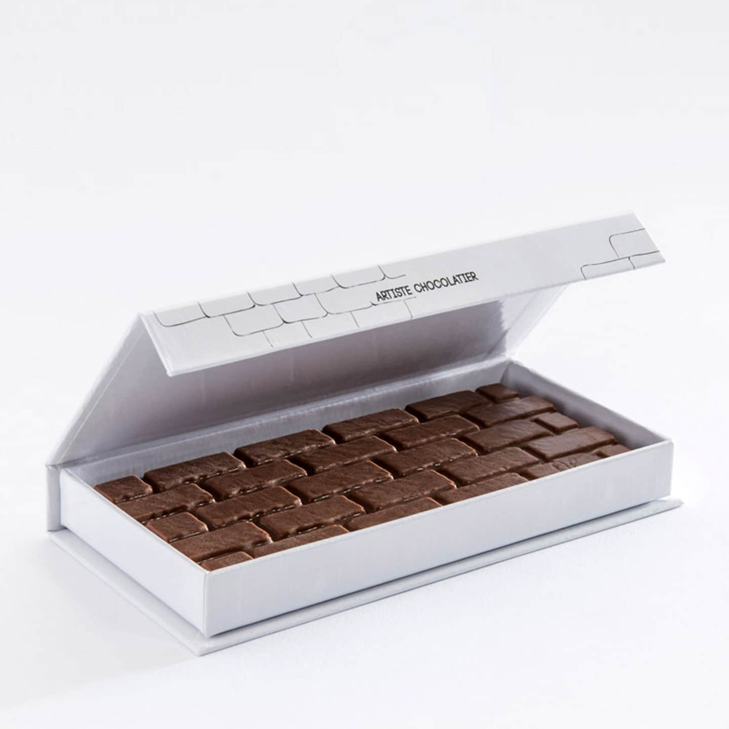 Tablette Chocolat Lait Praliné Orange 32% 100g